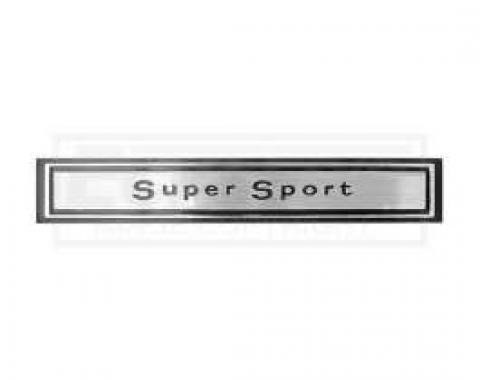 Chevelle Dash Emblem, Super Sport, 1967