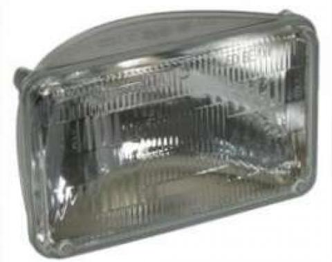 Chevelle Headlight, Sealed Beam, Low, Lower, 1976-1977