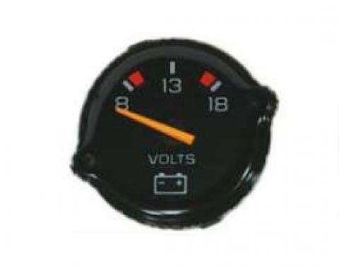 Malibu Volt Gauge, For Factory Gauge Cars, 1978-1983