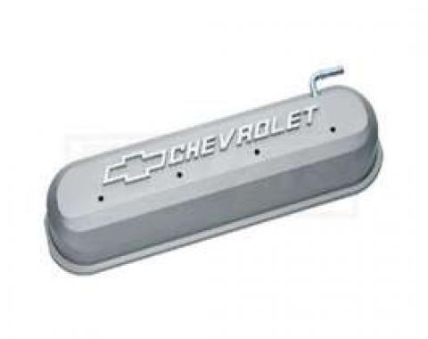 LS V8, Valve Cover, Cast Gray With Raised Emblems