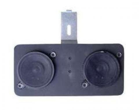 Chevelle Speakers, Dual Front, 50 Watt, For Cars With Air Conditioning, 1966-1967