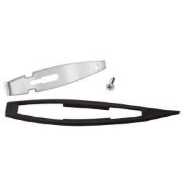 Chevelle Outside Rear View Mirror Mounting Kit, Remote, 1968-1969