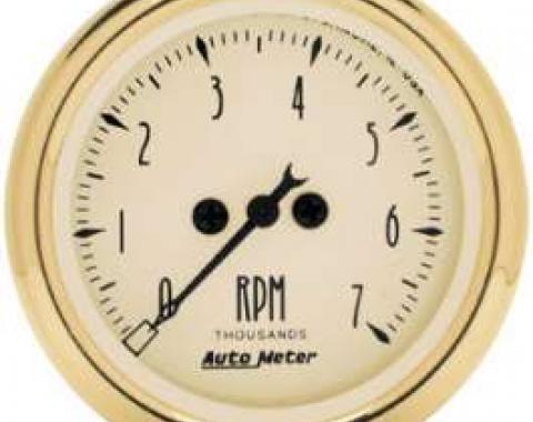 Chevelle Tachometer, 7000 RPM, Golden Oldies, AutoMeter, 1964-1972