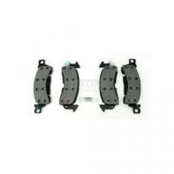 Chevelle Front Disc Brake Pads, AC Delco, 1969-1977