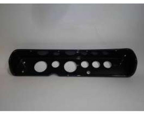 Chevelle Instrument Cluster Panel, Carbon Fiber Finish, With Pre-Cut Holes, 1964-1965