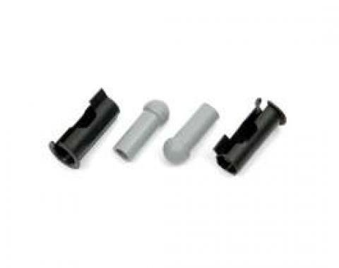Sunvisor Tip & Bushing Set, 1964-1972