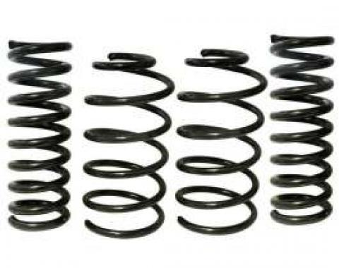 Chevelle Spring Set, Lowered, 1.3 Drop, Front & Rear, Eibach, 1964-1966