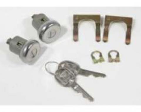 Chevelle & Malibu Door Locks, Late Style Keys, 1977-1983