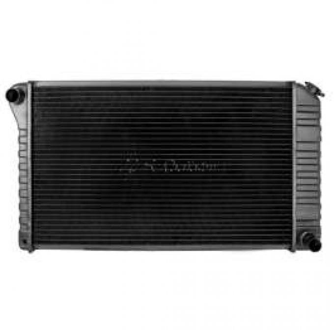 Chevelle Radiator, 2 5/8 Thick 396, 454 Auto Without Air, 1972