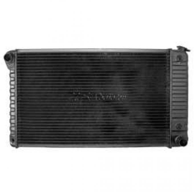 Chevelle Radiator, Big Block, 4-Row, For Cars With Automatic Transmission & Without Air Conditioning, Desert Cooler, U.S. Radiator, 1968-1971