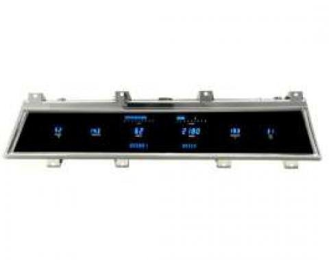 Chevelle Digital Dash Conversion, Blue, 1966-1967