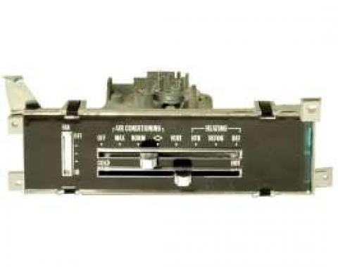 Chevelle Heater & Air Conditioning Control Panel Assembly, 1971-1972