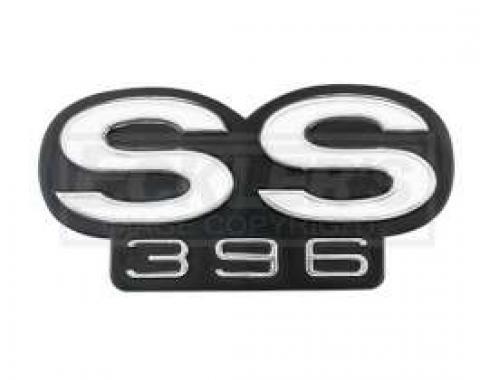 Chevelle Rear Panel Emblem, SS396, 1967
