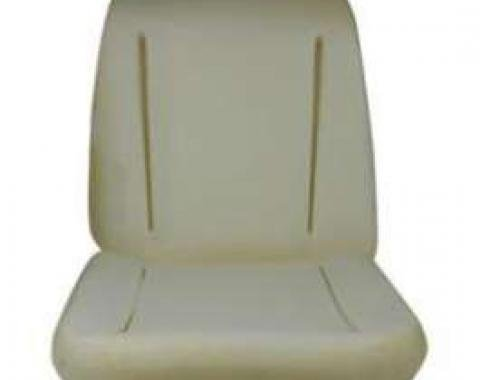 Chevelle Bucket Seat Foam Cushion, 1966-1967