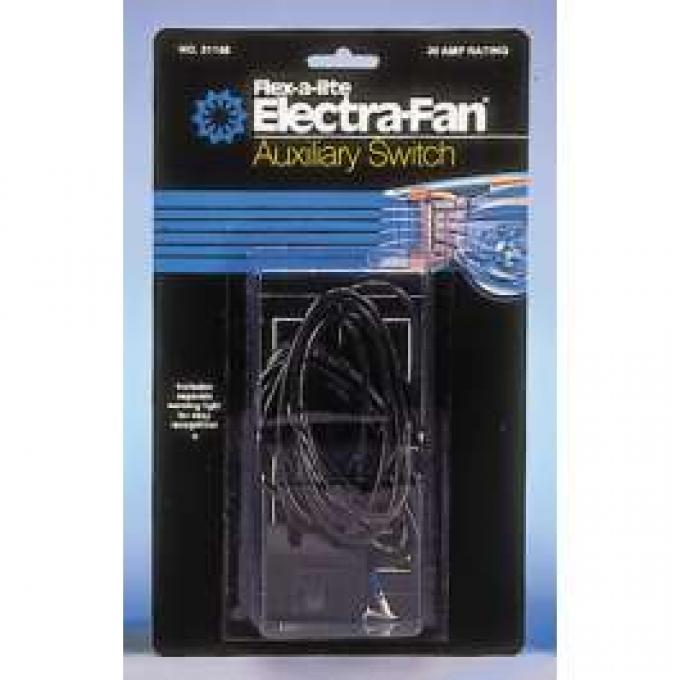 Chevelle Electric Fan Switch, Universal, Flex-a-lite, 1964-1972