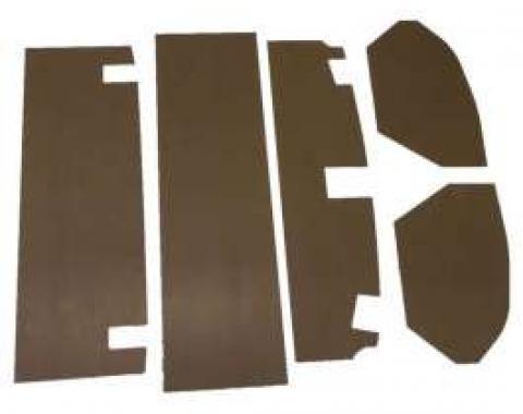 Chevelle Trunk Upholstery Panel Kit, 1/4 Tempered Hardboard, 1968-1969