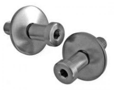 Chevelle Striker Pins, Door, Stainless Steel, 1964-1972