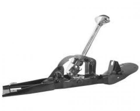 Chevelle Shifter Assembly, With Handle, 3-Speed Automatic, 1966-1967