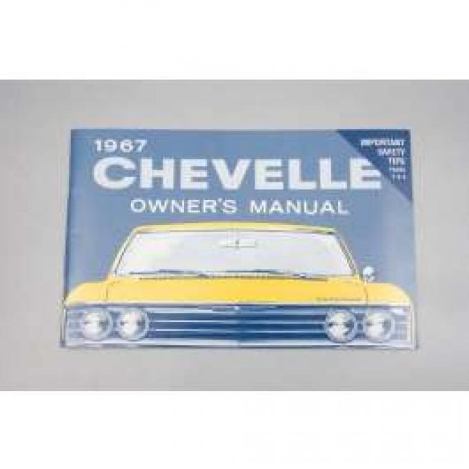 Chevelle Owner's Manual, 1967