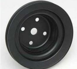 Chevelle Water Pump Pulley, 396/375hp L78, Deep Single Groove, Black, 1969