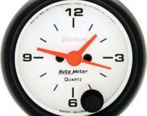 Chevelle Clock, Phantom Series, Autometer, 1964-1972