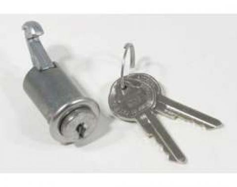 Chevelle Glove Box Lock Set, With Original Style Keys, 1964-1965