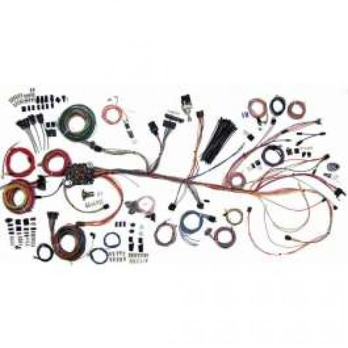 Chevelle Complete Car Wiring Harness Kit, Classic Update, American Autowire, 1964-1967