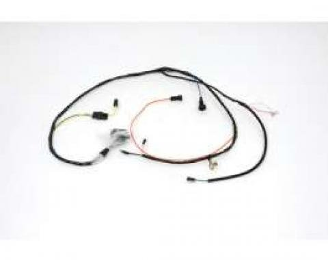 Chevelle Engine Wiring Harness, 327/350hp L79, For Cars With Warning Lights & Without Air Conditioning, 1966