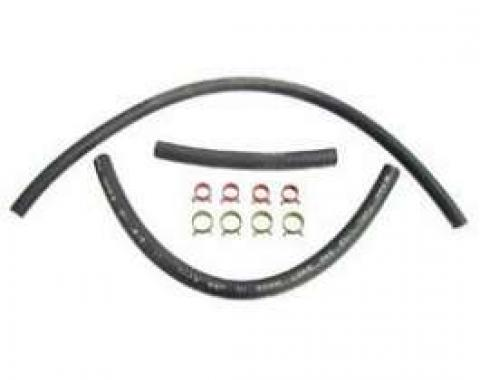 Chevelle Fuel Hose Kit, Fuel Sender To Frame & Frame To Fuel Pump, 5/16, For Cars With Vapor Return System, 1969-1972