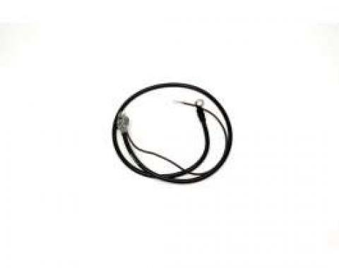 Chevelle Battery Cable, Spring Ring, Positive, 6 Cylinder, 1969