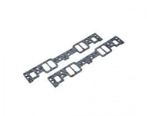 Chevelle Intake Manifold Gaskets, Small Block, For Vortec Or E-Tec Cylinder Heads, Edelbrock, 1964-1972