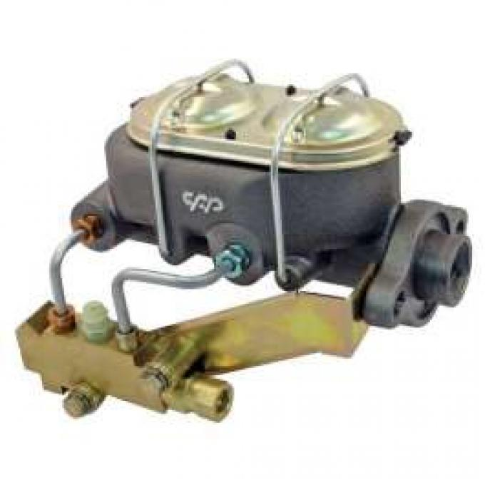 Chevelle Master Cylinder & Proportioning Valve Kit, Manual With Disc & Disc,1964-1972