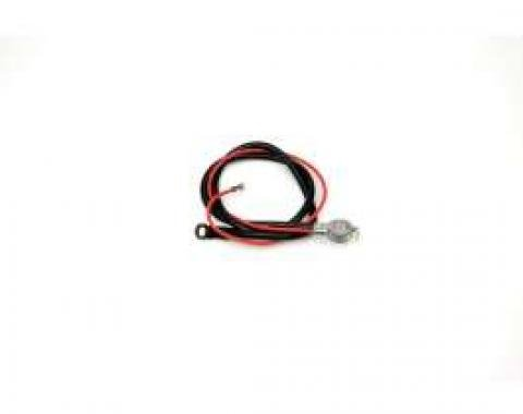 Chevelle Battery Cable, Spring Ring, Positive, 6 Cylinder, 1965