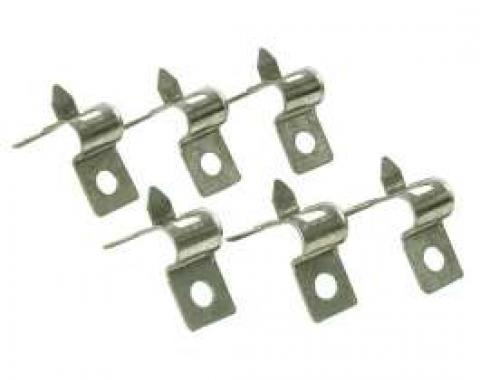 Chevelle Fuel Line Retaining Clips, Single, 3/8, For Cars Without Return Fuel Line, 1965-1972
