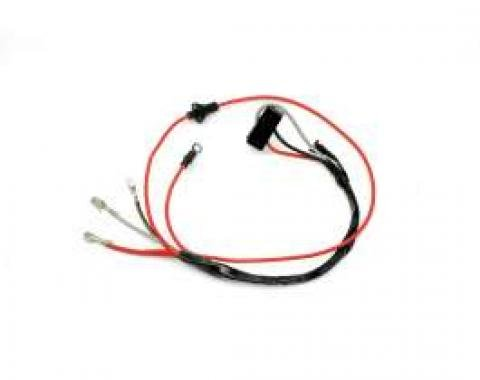 Chevelle Power Tailgate Window Wiring Harness, Wagon, Ribbon Cable, 1965-1967