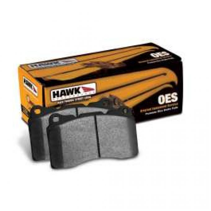 Chevelle Brake Pad, Hawk Performance, OES, Front, 1966-1977