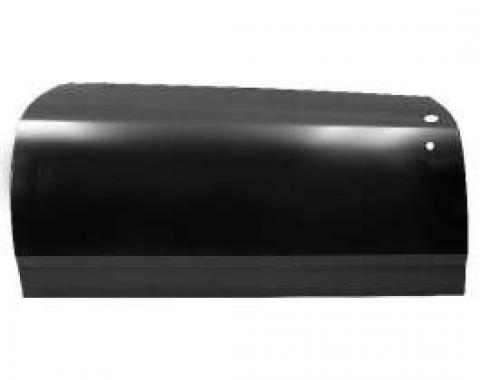 Chevelle Door Skin, 2-Door Coupe, Left, Quality Reproduction, 1969