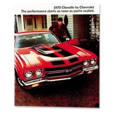 Chevelle Literature, Color Sales Brochure, 1970