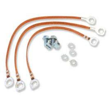 Chevelle Ground Wire Strap Kit, Small Or Big Block, 1964-1965