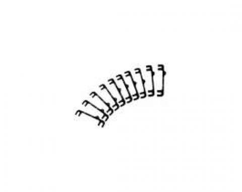 Chevelle Camber Shims, For Front Control Arms, Detroit Speed (DSE), 1973-1977
