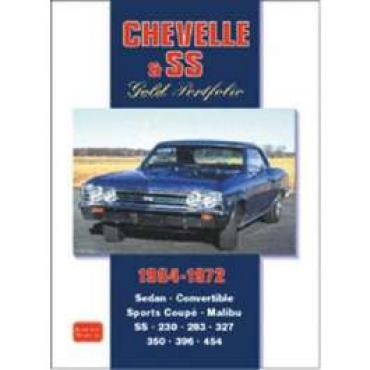Chevelle & SS Gold Portfolio Book