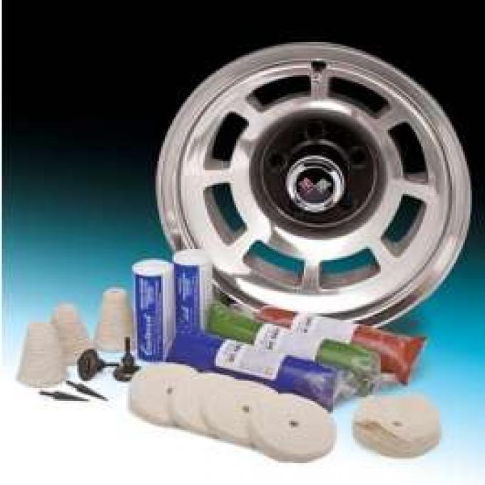 Aluminum Wheel Buffing / Smoothing Kit