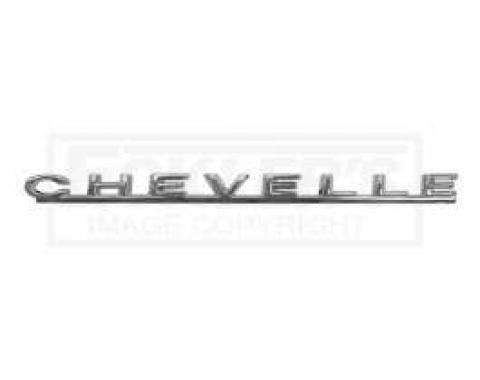 Chevelle Hood Emblem, Chevelle, 1967