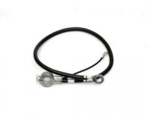 Chevelle Battery Cable, Spring Ring, Negative, Small Or Big Block, 1970