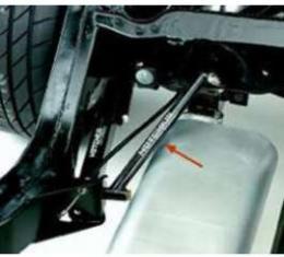 Chevelle Hotchkis Trailing Arm Mount Braces, 1964-1967