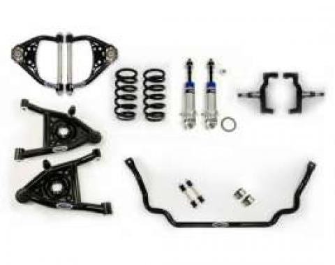 Chevelle Front Suspension, Speed Kit 2, Small Block And LS Motors, Detroit Speed (DSE), 1964-1966