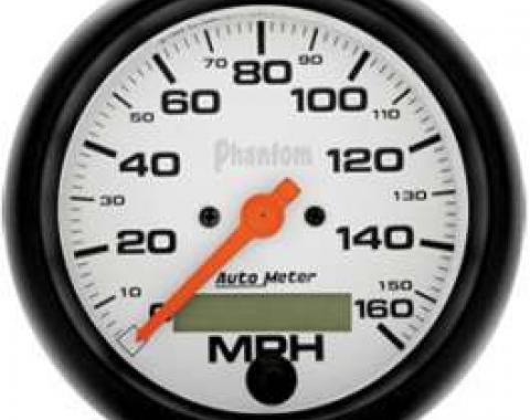 Chevelle Speedometer, Electric, 160 MPH, Phantom Series, AutoMeter, 1964-1972