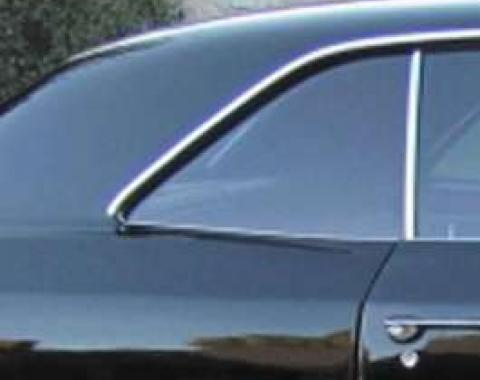 Chevelle Quarter Glass, 2-Door Coupe, Right Hand, 1966-1967