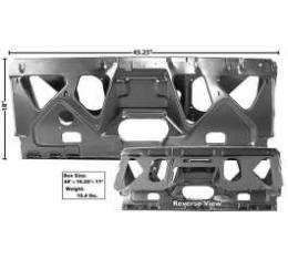 Chevelle Rear Seat Divider, Convertible, 1970-1972