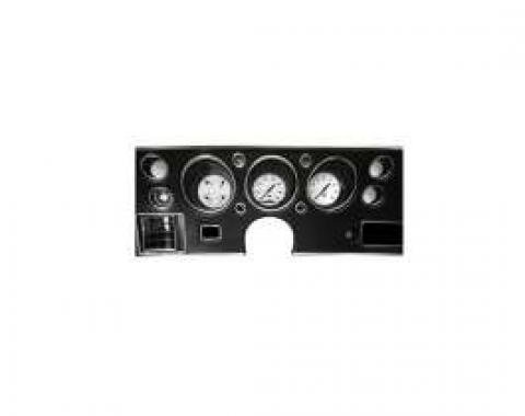 Chevelle Classic Instruments White Hot Custom Gauge Package, 1970-1972